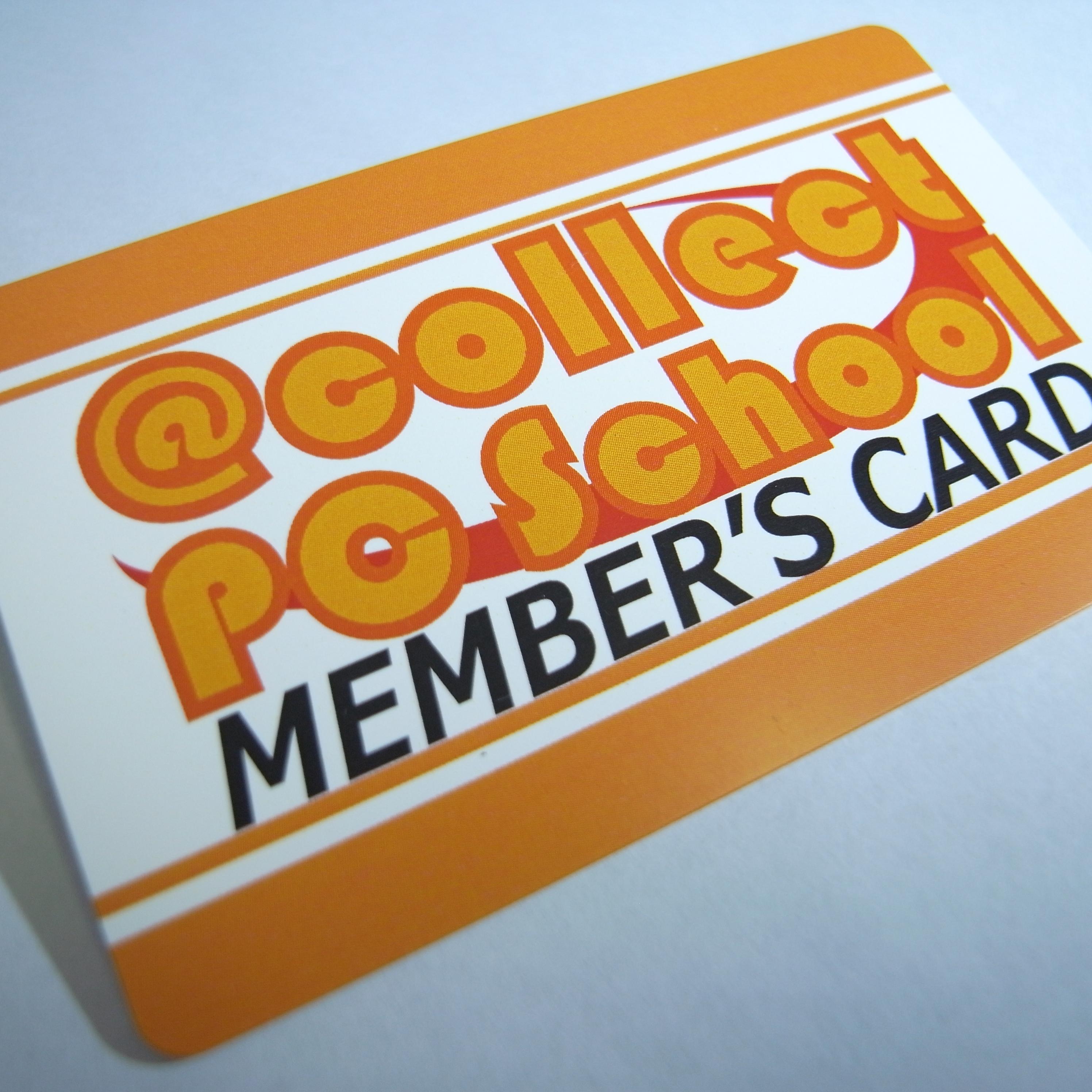エーコレクトPCスクールメンバーズカード