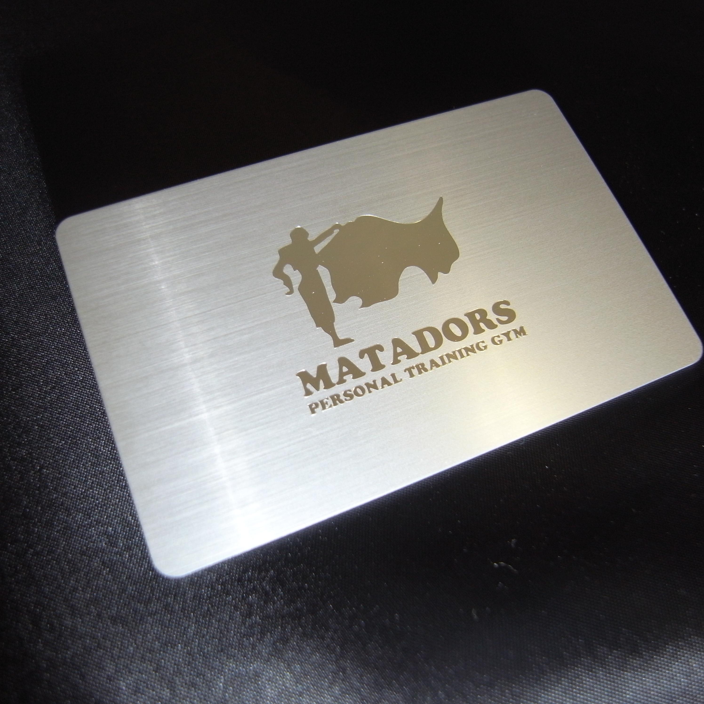 マタドールトレーナーズ会員カード