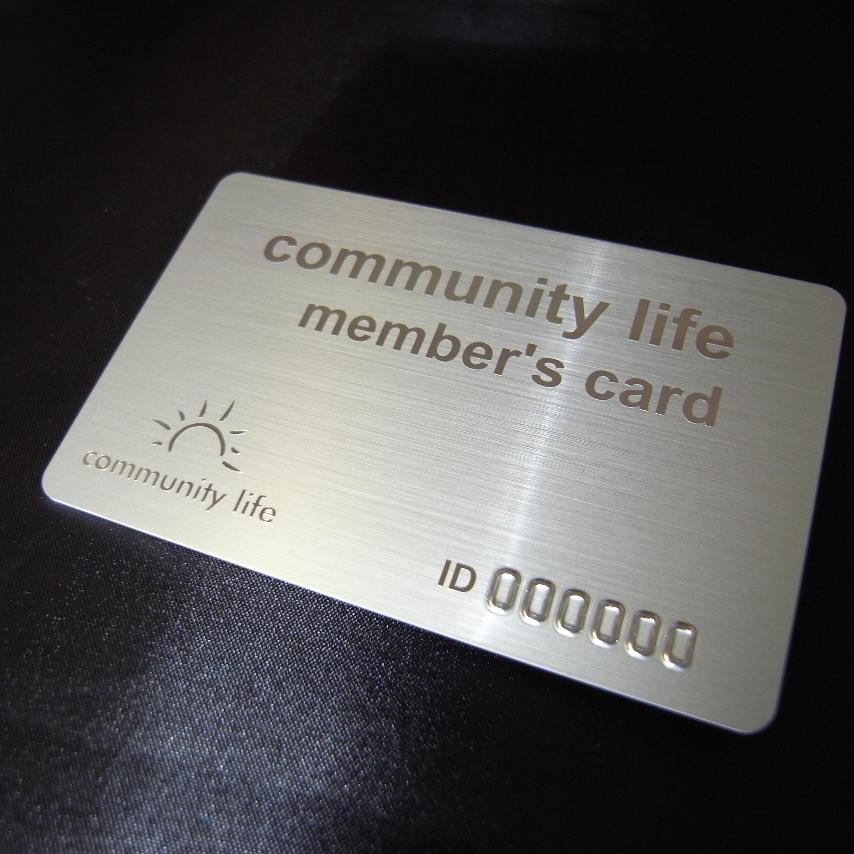コミュニティライフ様会員カード