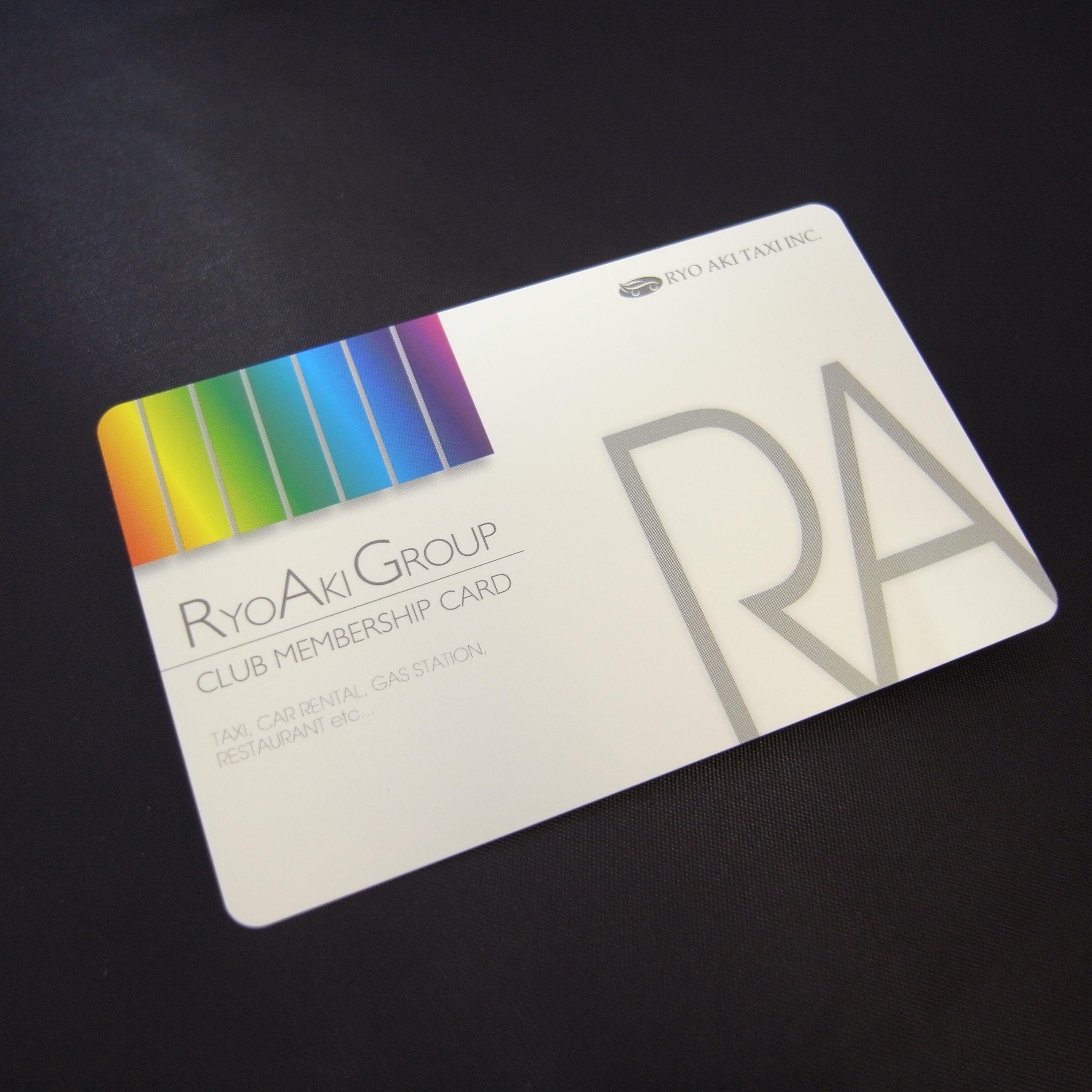 RyoAkiGroup会員登録カード