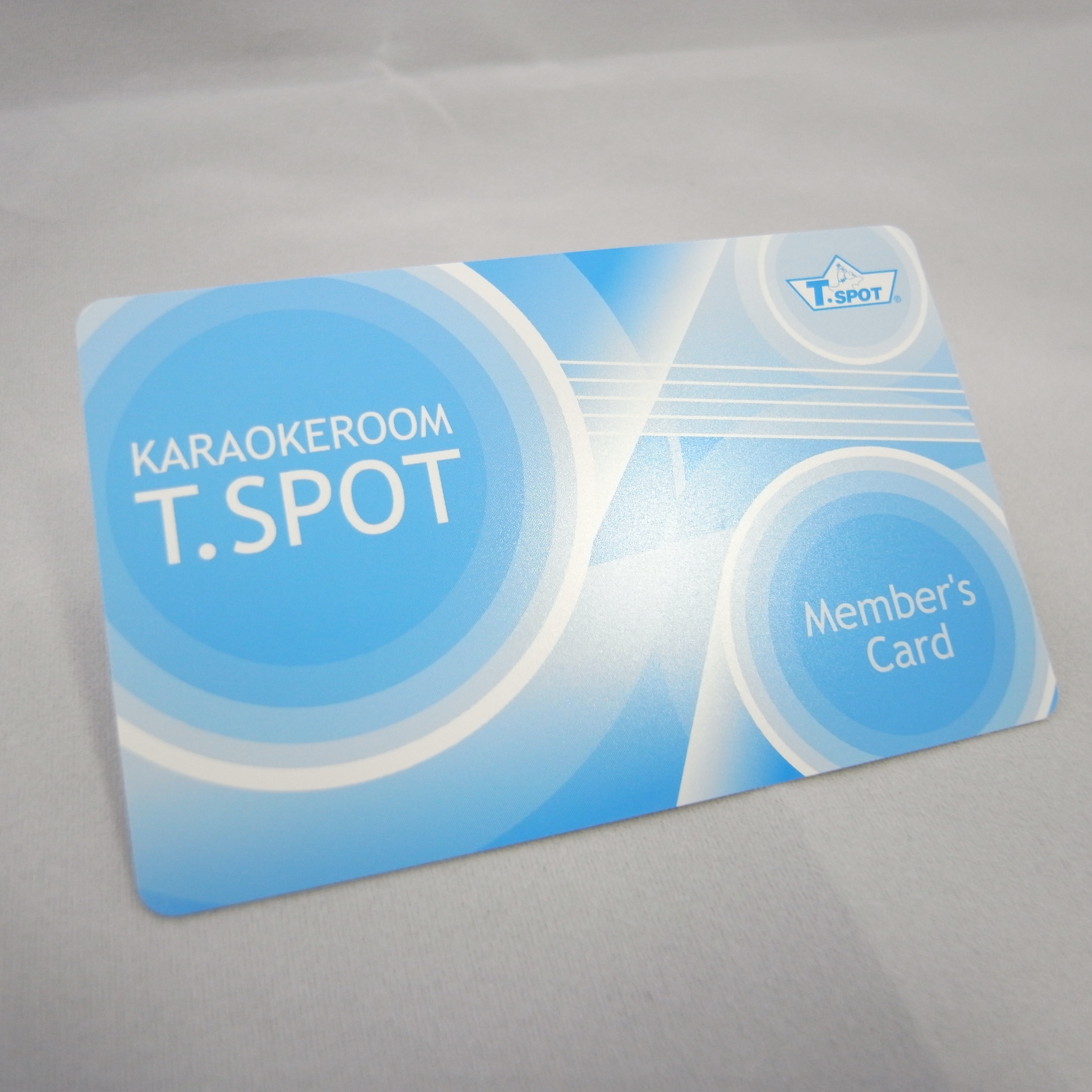 カラオケルームT.SPOT会員カード