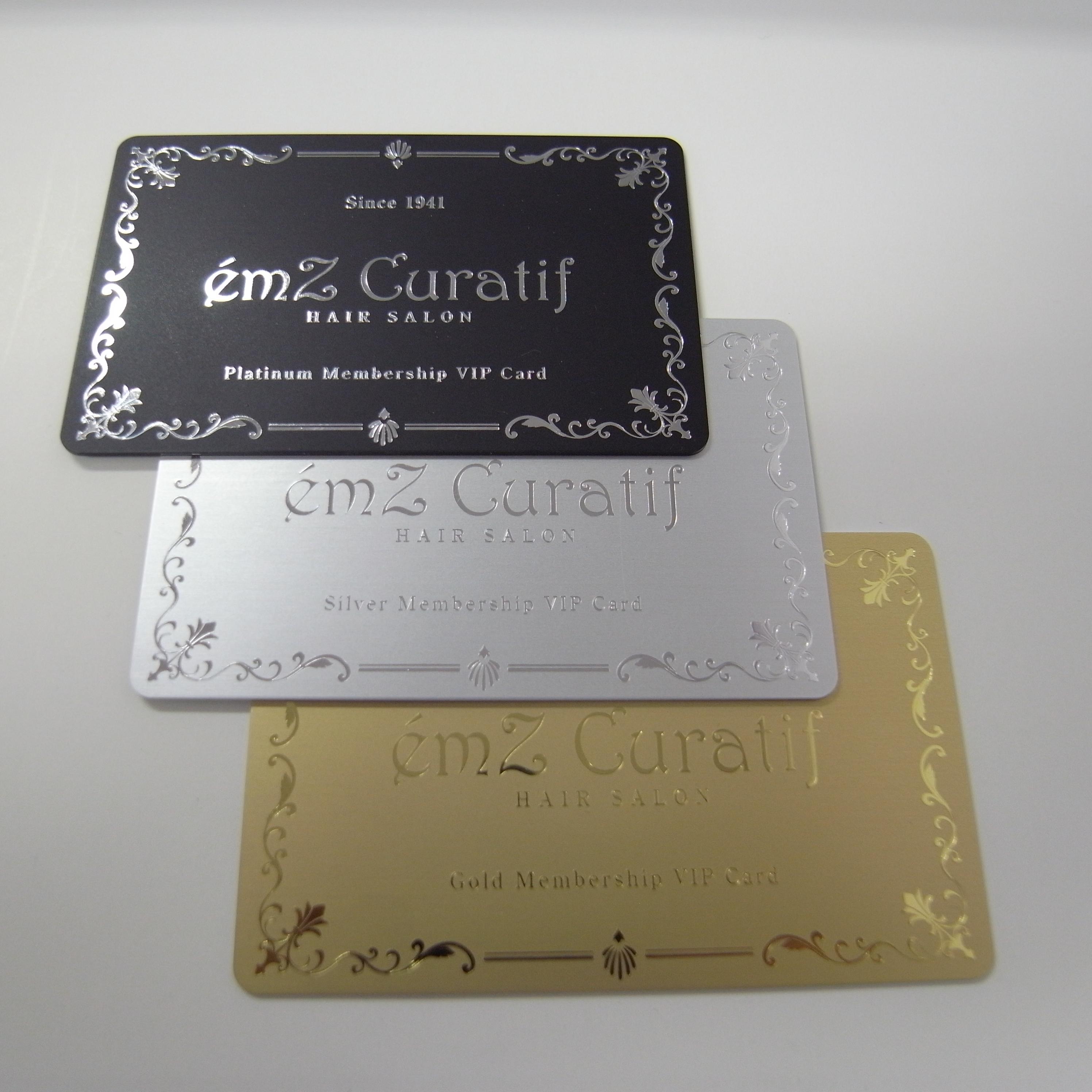 エムズ・キュラティフ会員カード表